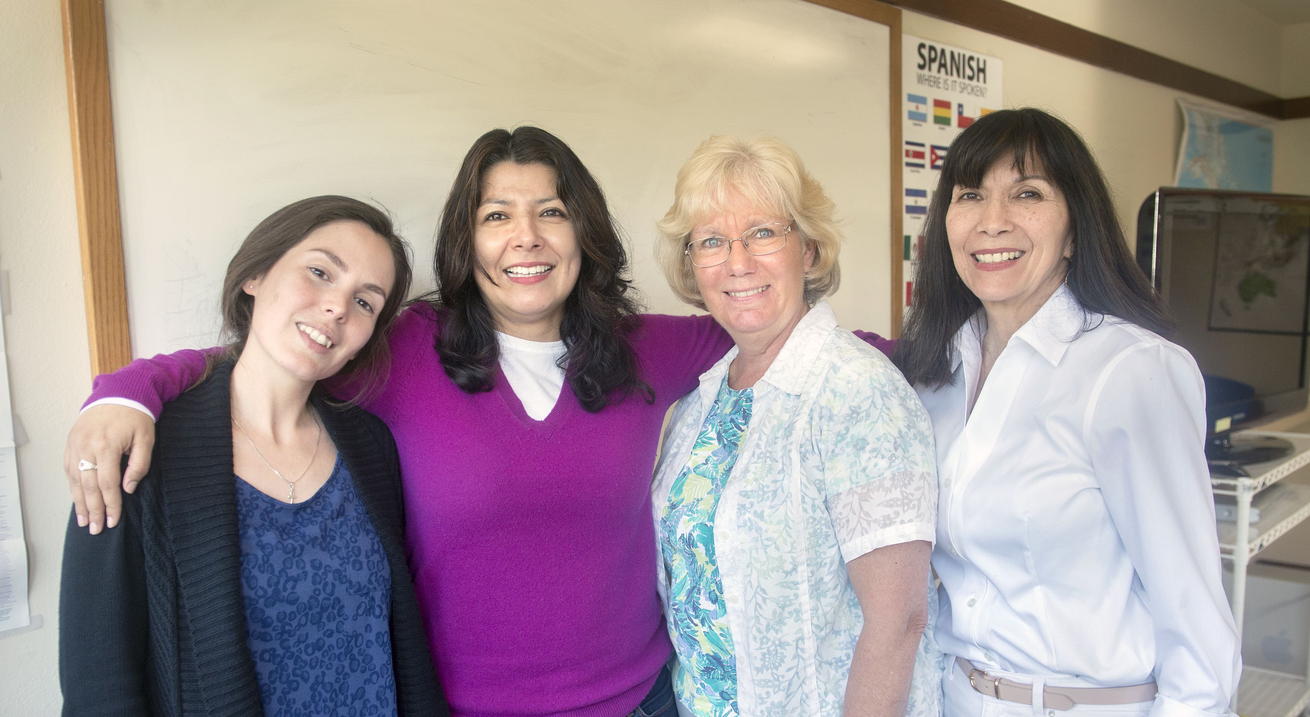 Learn Spanish in Marin County with our multicultural staff