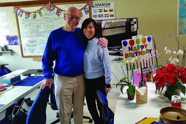 Celebrando el cumpleaños de nuestra querida Solveig