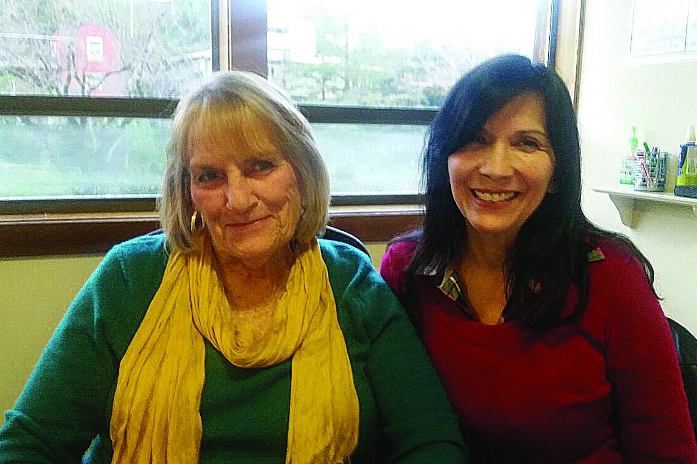Con nuestra admirada Diane